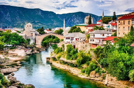 Mostar bridge, day trip from Dubrovnik