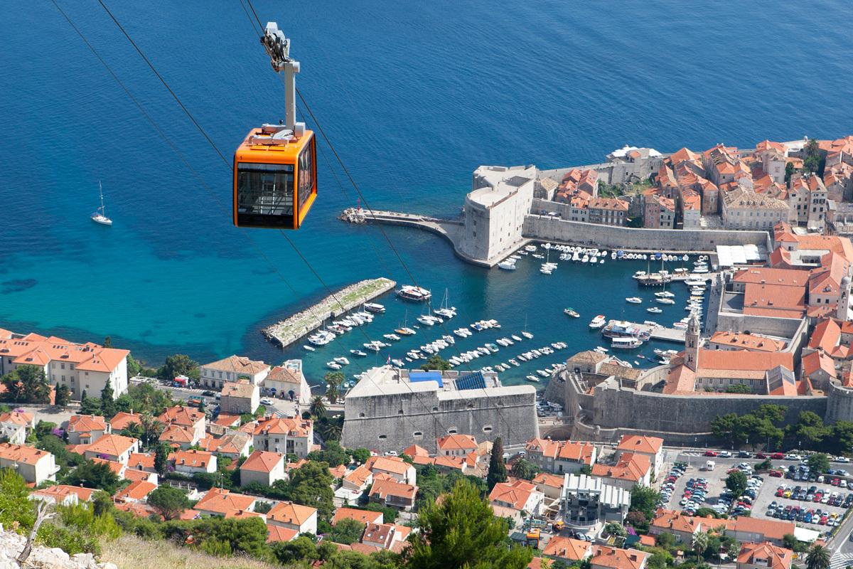 best panoramic views of Dubrovnik