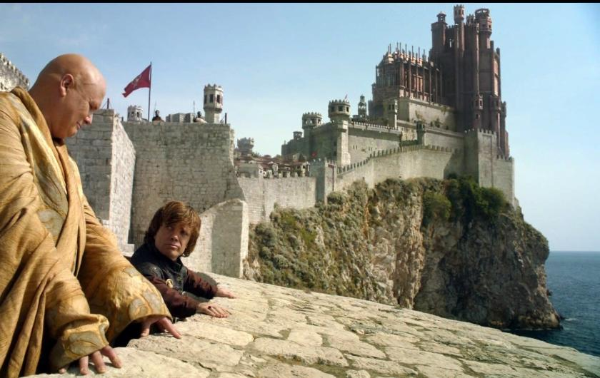 Game of Thrones filming location in Dubrovnik - Bokar