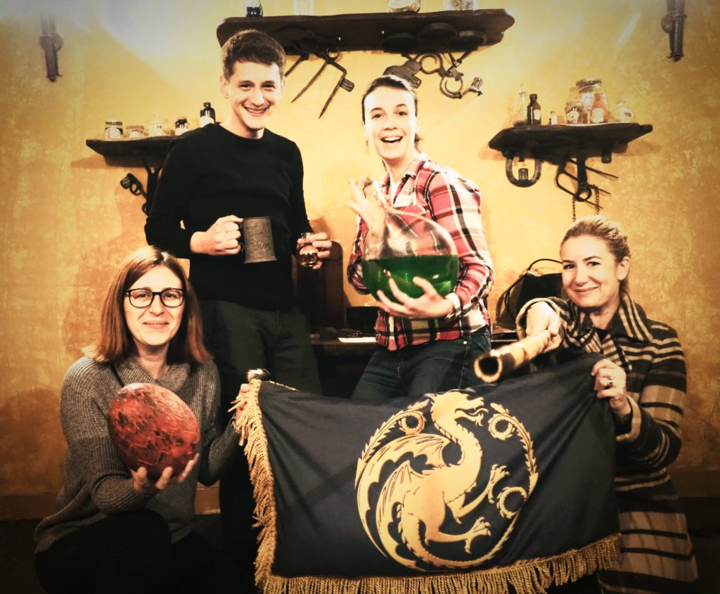 Coolest Game of Thrones activity in Dubrovnik is the Save Kings Landing escape room