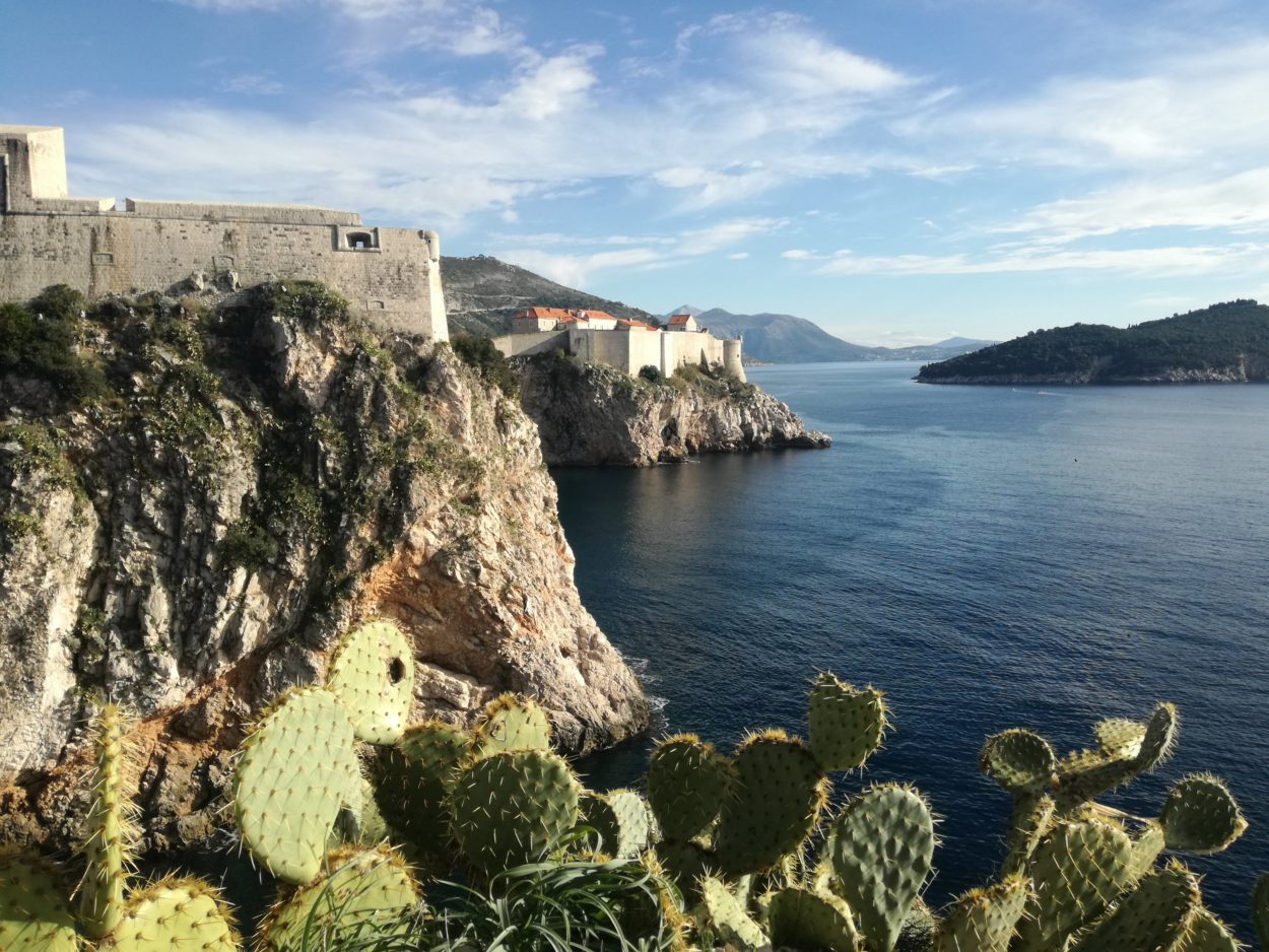 Dubrovnik city walls are even more beautiful in the winter, without crowds
