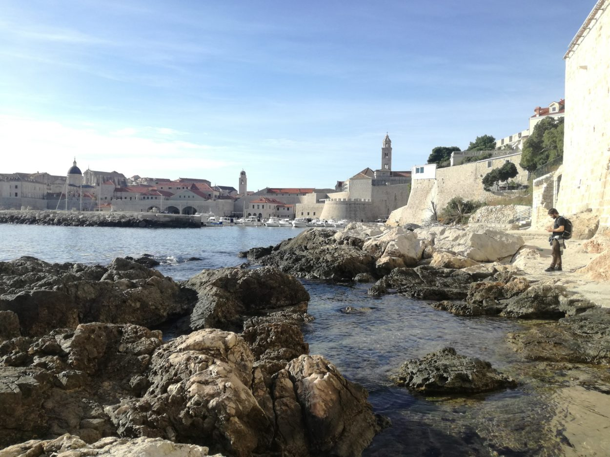 Game of thrones location in Dubrovnik are less crowded in the winter
